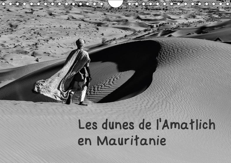 Les dunes de l'Amatlich en Mauritanie (calendrier mural 2017 DIN A4 horizontal)