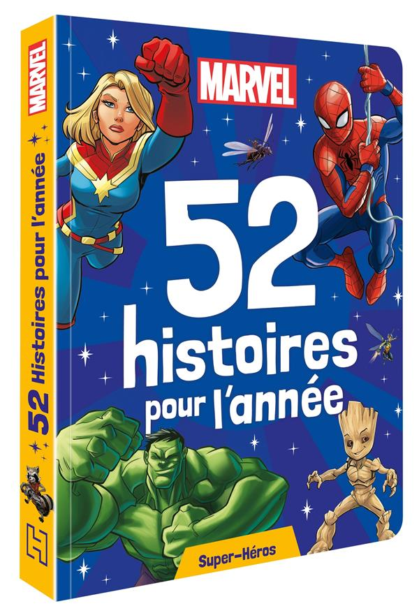 52 histoires pour l'année ; super-héros