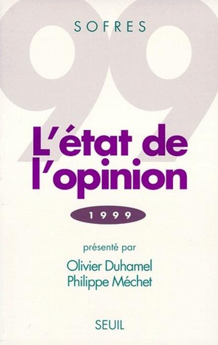 L'état de l'opinion (édition 1999)