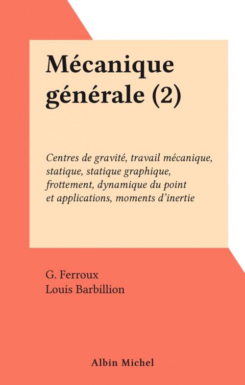Mécanique générale (2)