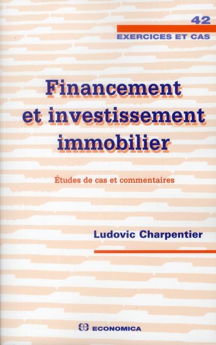 Financement et investissement immobilier