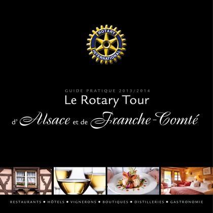 Le Rotary tour d'Alsace et de Franche Comté 2013-2014