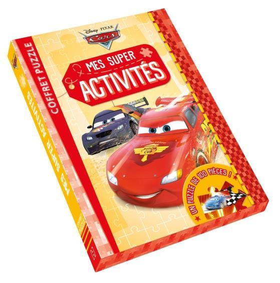 Cars ; mes super activités ; coffret puzzle