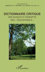 Vente Livre Numérique : Dictionnaire critique  - Nicole Tutiaux-Guillon - Jean-Marc Lange - Angela Barthes