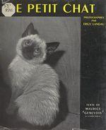 Vente Livre Numérique : Le petit chat  - Maurice Genevoix