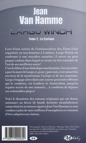 Largo Winch t.2 ; la cyclope