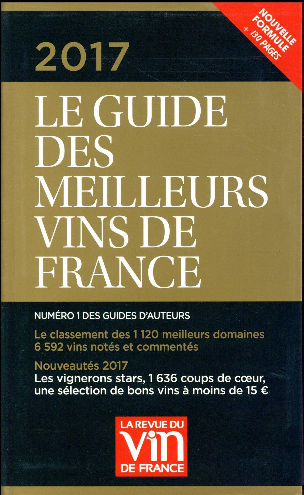 Le guide vert des meilleurs vins de France (édition 2017)