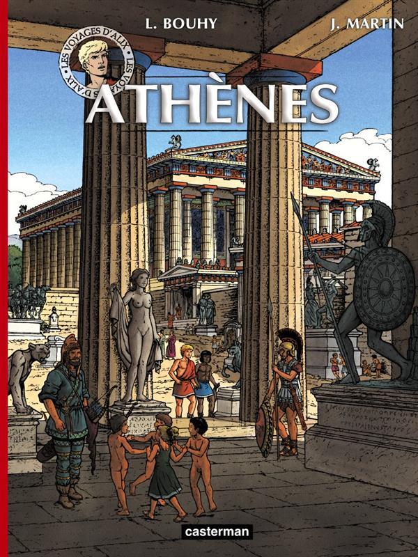 Les voyages d'Alix ; Athènes