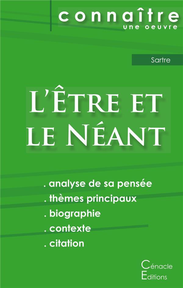 l'être et le néant, de Jean-Paul Sartre