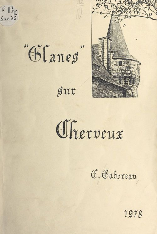 Glanes sur Cherveux  - Étiennette Gaboreau