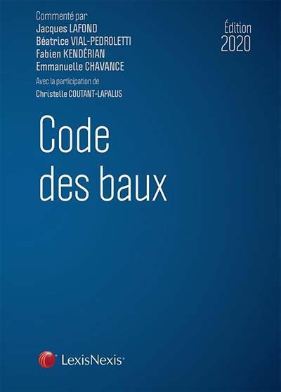 Code des baux (édition 2020)