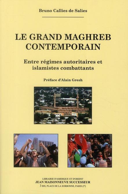 Le grand Maghreb contemporain ; entre régimes autoritaires et islamistes combattants