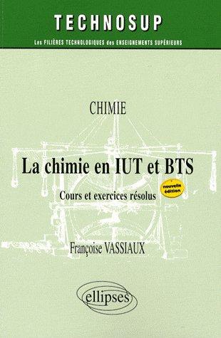 Chimie En Iut Et Bts