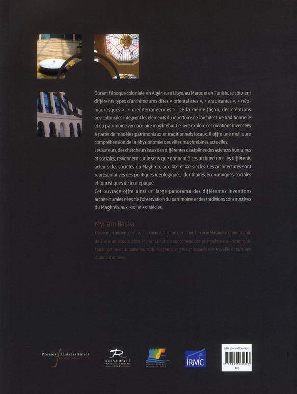 Architectures au maghreb xixe xxe siecles