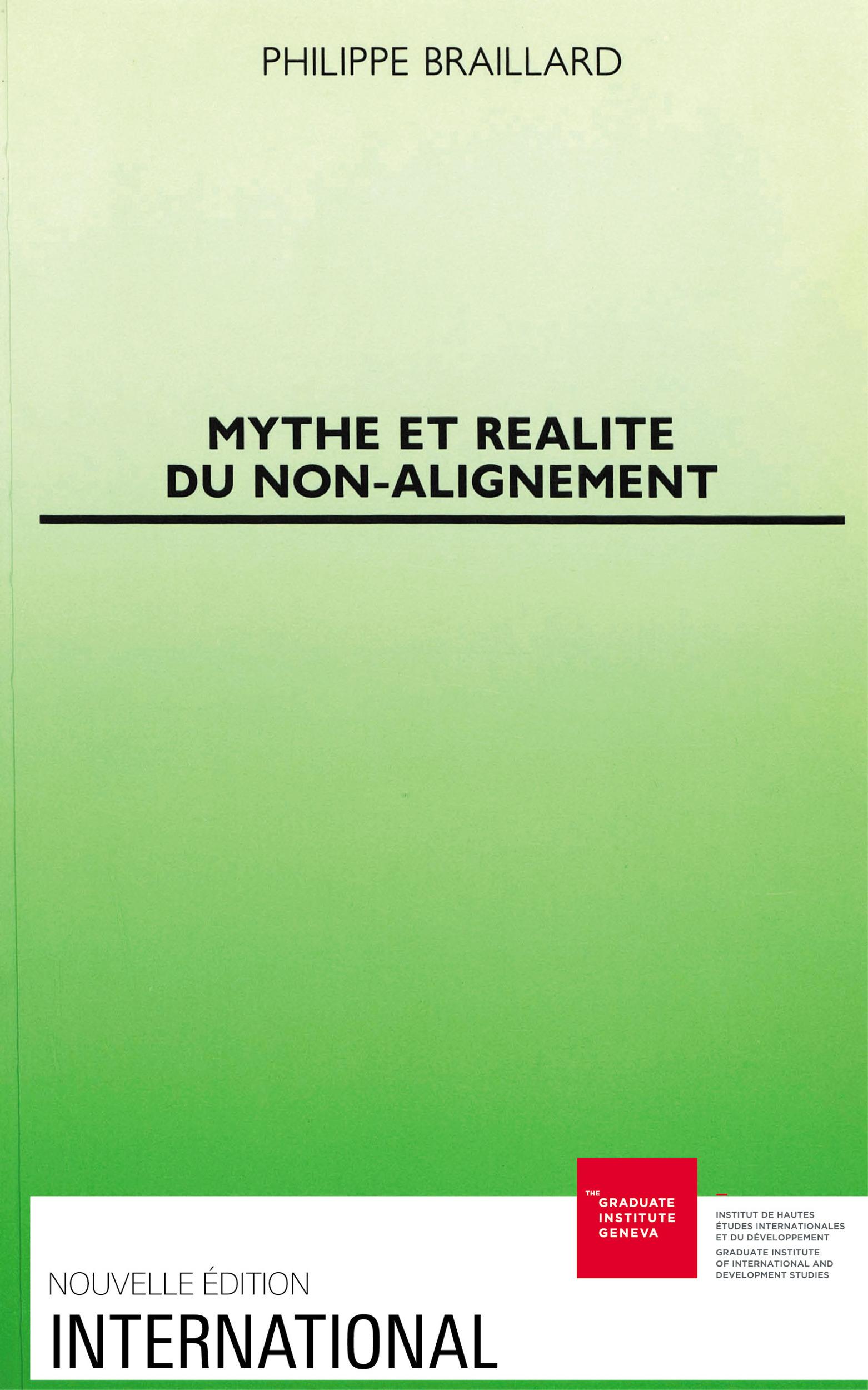 Mythe et realite du non-alignement