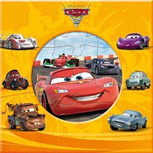 Cars 2 ; Mon Premier Livre-Puzzle