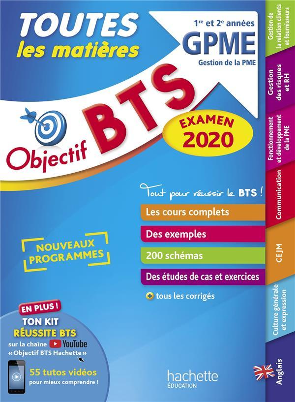 Objectif Bts ; Le Tout En Un Bts ; Gestion De Pme