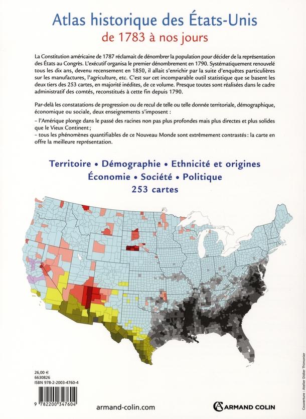 Atlas historique des Etats-Unis (1789-2006)
