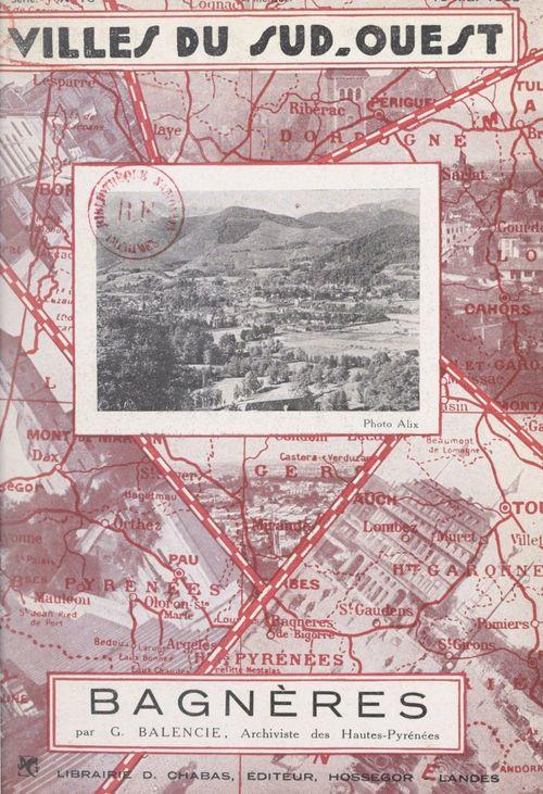 Bagnères-de-Bigorre  - Gaston Balencie
