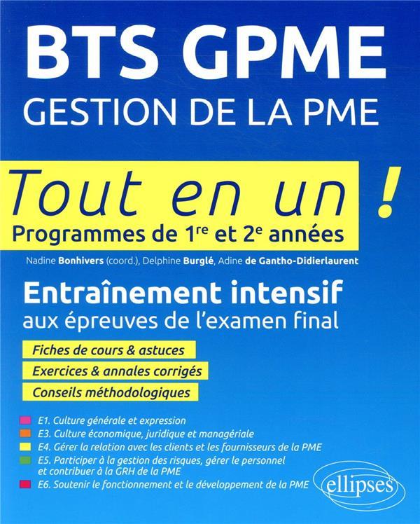 BTS GPME ; gestion de la PME