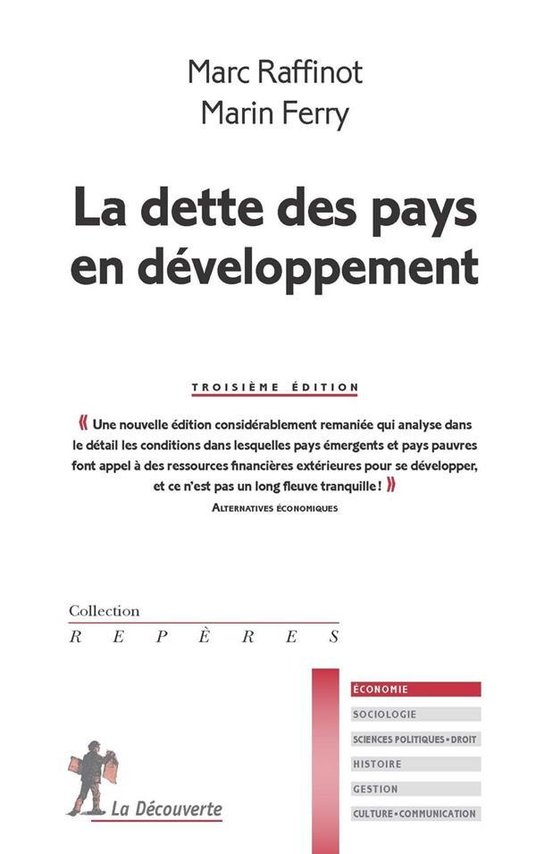 LA DETTE DES PAYS EN DEVELOPPE