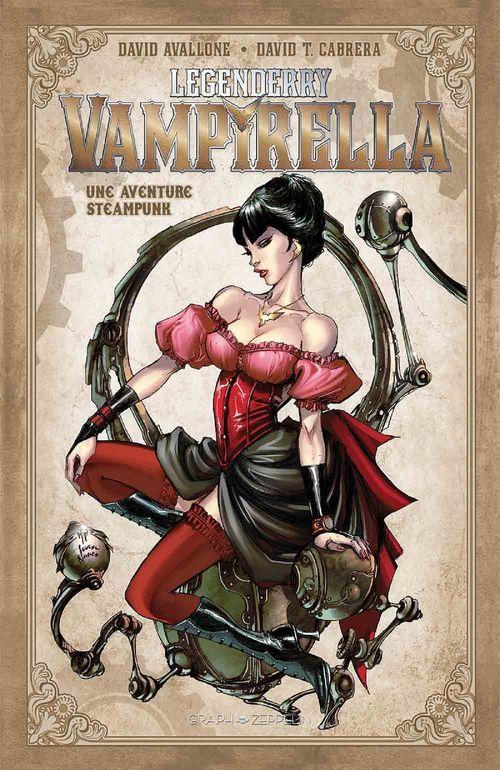 Legenderry Vampirella  - David Avallone  - Robby Bevard  - David Cabrera  - David T. Cabrera
