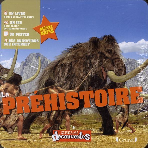 La Prehistoire ; Coffret