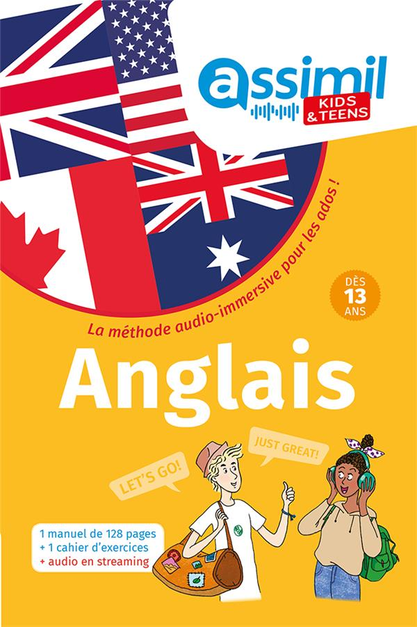Kids & teens - 100% english ; anglais