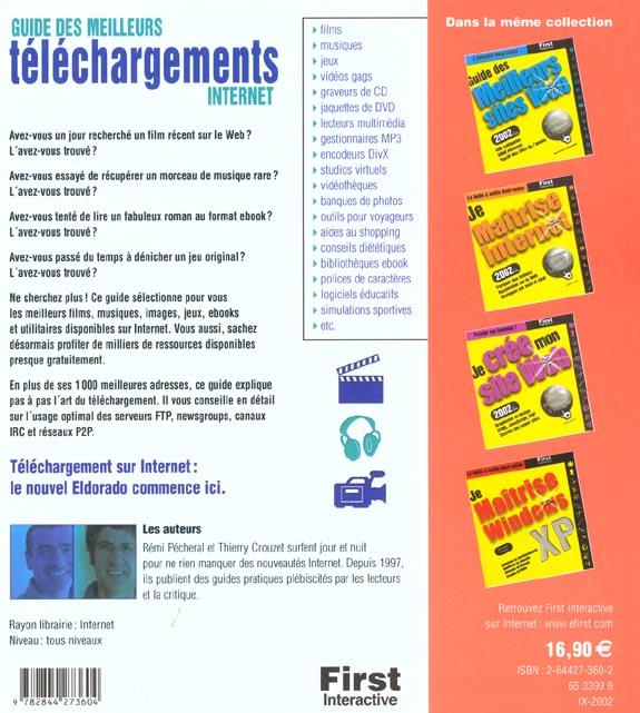 guide des meilleurs telechargements internet