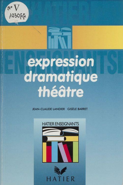 Expression dramatique théâtre