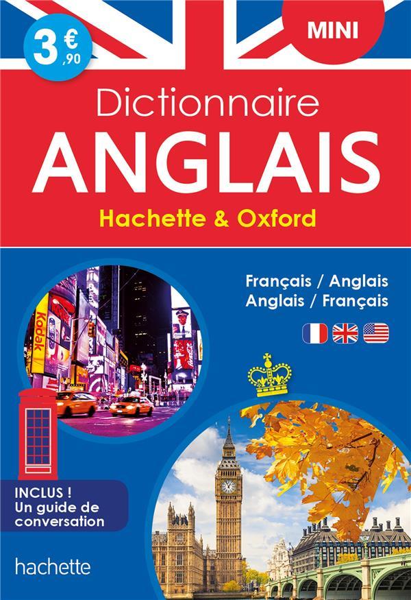DICTIONNAIRE HACHETTE et OXFORD MINI  -  FRANCAIS-ANGLAIS  ANGLAIS-FRANCAIS XXX