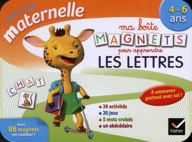 Ma Boite De Magnets Pour Apprendre Les Lettres