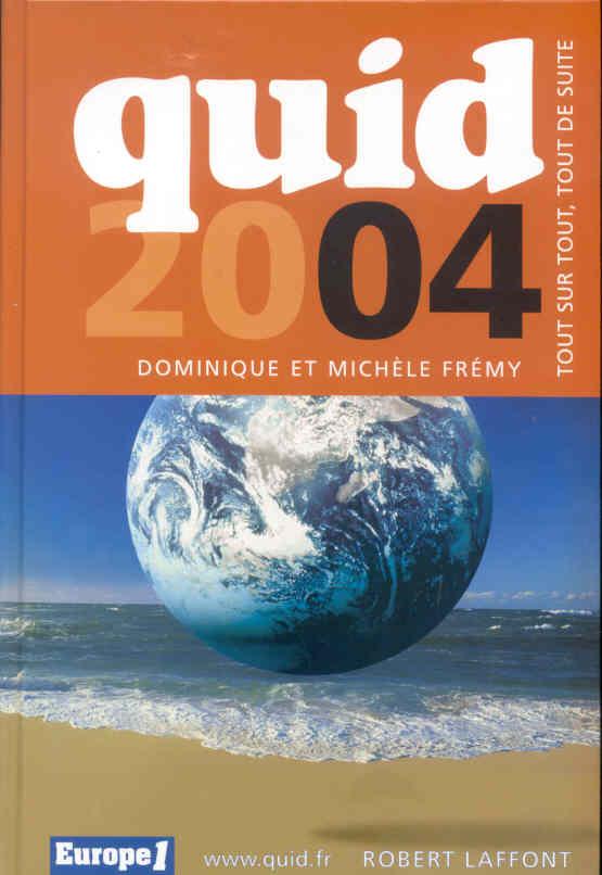 Quid 2004 (édition 2004)