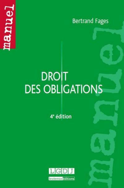 Droit des obligations (4e édition)