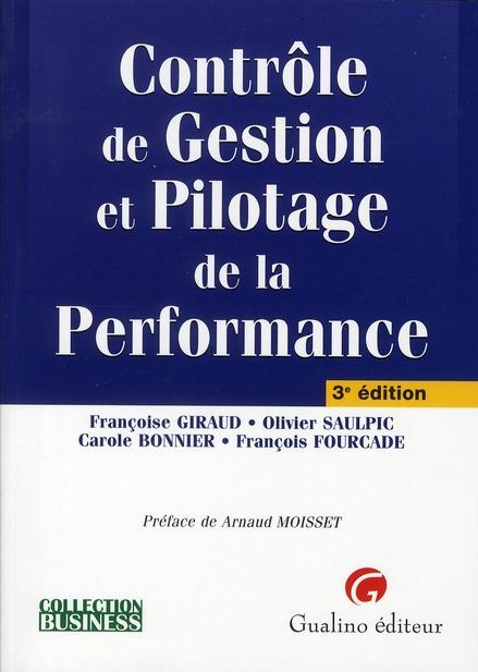 Controle De Gestion Et Pilotage De La Performance