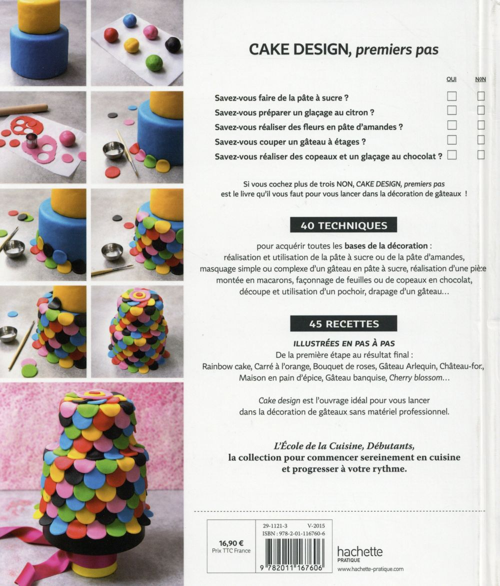 Cake design pour débutant