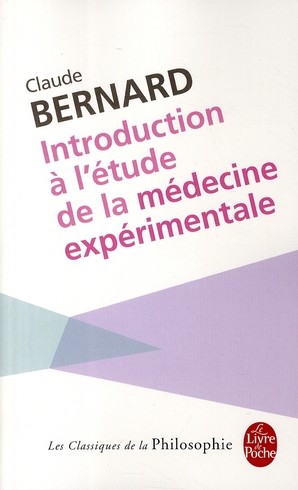 Introduction A L'Etude De La Medecine Experimentale