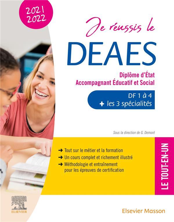 JE REUSSIS LE DEAES, DIPLOME D'ÉTAT ACCOMPAGNANT EDUCATIF ET SOCIAL (EDITION 20212022)