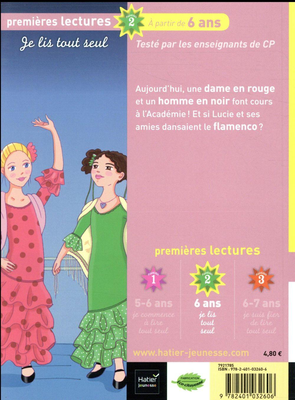 Lucie petite danseuse T.7 ; si on dansait le flamenco ?