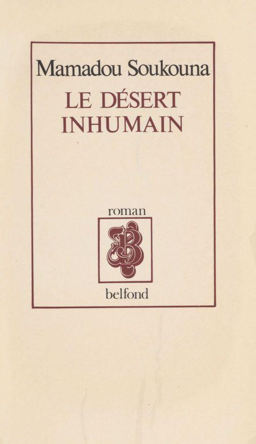Le desert inhumain