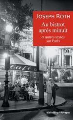 Vente Livre Numérique : Au bistrot après minuit  - Joseph Roth