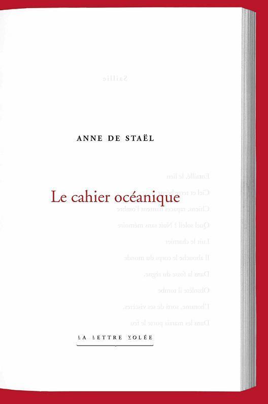 Le cahier océanique