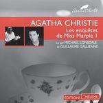 Vente AudioBook : Les enquêtes de Miss Marple 1  - Agatha Christie - Guillaume Gallienne