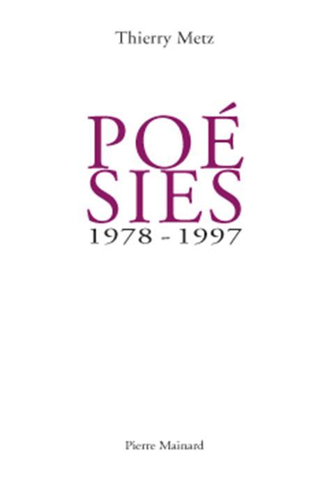 POESIES 1978 - 1997