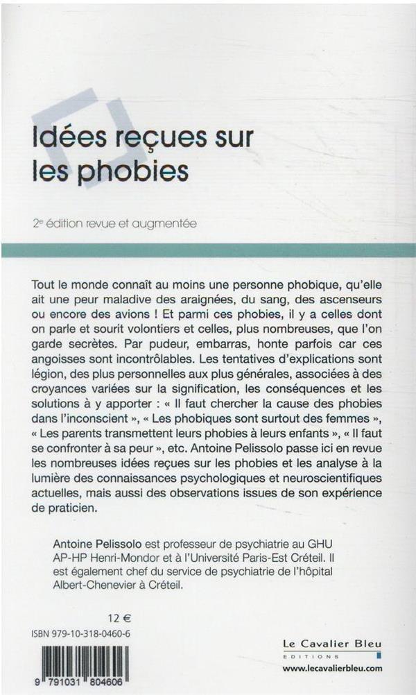 idées reçues sur les phobies