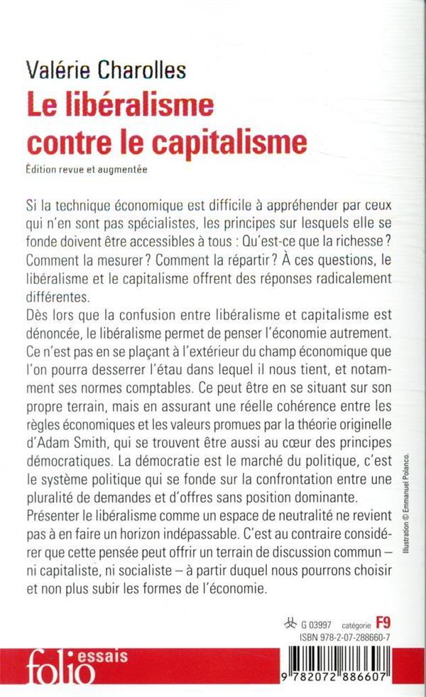 Le libéralisme contre le capitalisme
