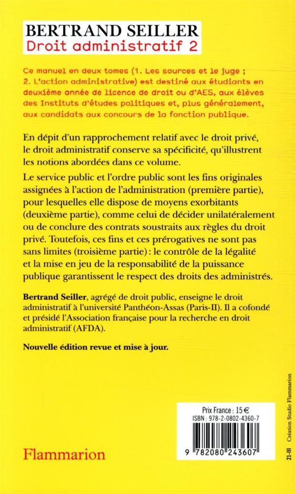Droit administratif - t02 - l'action administrative
