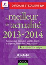 Vente Livre Numérique : Le meilleur de l'actualité 2013-2014 - Concours et examens 2014  - Olivier Sarfati