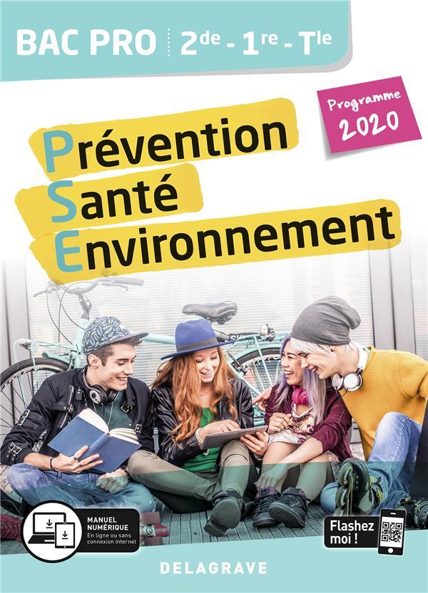 Prévention santé environnement (PSE) 2de, 1re, terminale bac pro ; pochette élève (édition 2020)