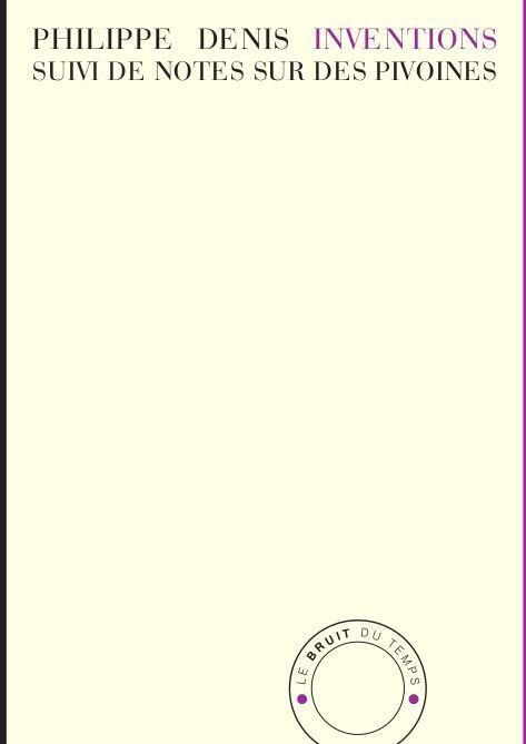 inventions ; notes sur des pivoines